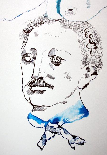 Die Schleife (c) Zeichnung von Susanne Haun