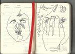 Selbstportrait Tagebuch 25. Woche (c) Zeichnungen von Susanne Haun