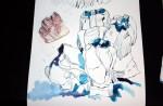 Vergleich Modell und Zeichnung (c) Zeichnung von Susanne Haun