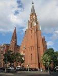Stephanskirche Berlin Wedding, Ort der Messe Herzblut (c) Foto von Susanne Haun