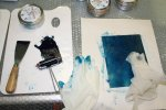 Ich wähle ein schönes Blau (c) Foto von Susanne Haun
