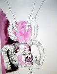 Der Teufel hat die Welt gemacht (c) Zeichnung von Susanne Haun