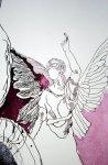 Die Engel (c) Zeichnung von Susanne Haun