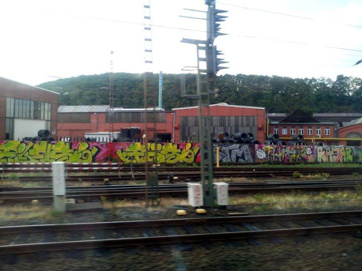 Aus dem Zug Hagen (c) Foto von Susanne Haun