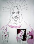 Entstehung Der neue Tag beginnt – 65 x 50 cm (c) Zeichnung von Susanne Haun