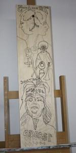 Mit meinem Plan wird das planlose überzeichnet (c) Zeichnung von Susanne Haun