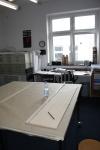 Ich arbeite in Jürgens Atelier (c) Foto von Susanne Haun