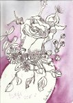 Blumen Greta (c) Zeichnung von Susanne Haun