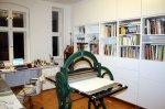 Zur anderen Seite - Ich etabliere mich in meinem neuen Atelier (c) Foto von Susanne Haun