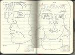Selbstportrait Tagebuch 44. Woche (c) Zeichnung von Susanne