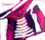 2 gegen 1 (c) Überzeichnung von Susanne Haun