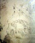 Detail der Ätzung (c) Radierung von Susanne Haun