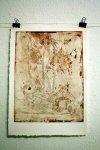 Hic locus est ubi mors docet vivos - 30 x 40 cm (c) Radierung von Susanne Haun