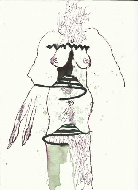 Berliner Blätter 14 (c) Zeichnung von H.-J. Küster und S.Haun
