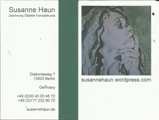 Visitenkarte Susanne Haun