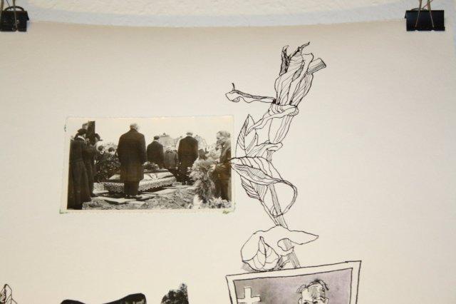 Entstehung  - Vom Leben zum Tod (c) Collage von Susanne Haun