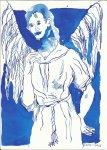 Sprachloser Engel (c) Zeichnung von Susanne Haun