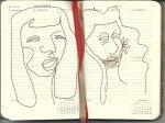 Selbstportrait Tagebuch 46. Woche (c) Zeichnung von Susanne