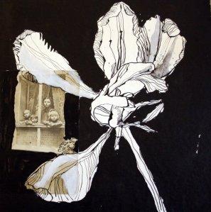 Bild 29 - Ausblick mit Blume (c) Collage von Susanne Haun