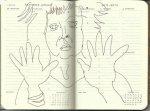 Selbstportrait Tagebuch 1. Woche (c) Zeichnung von Susanne Haun