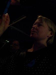 Anna bei der Arbeit (c) Foto von Susanne Haun