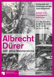 Werbeplakat der Albrecht Dürer Ausstellung © Staatliche Museen zu Berlin