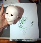 Entstehung meines Ichs (c) Zeichnung von Susanne Haun