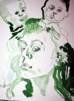 Mein Ich (c) Zeichnung von Susanne Haun