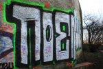 Graffiti am Bunker Humboldthain (c) Foto von Susanne Haun