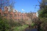 Industriebauten an der Panke gegenüber der Luisenbibliothek (c) Foto von Susanne Haun
