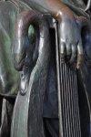 Detail Schillerdenkmal (c) Foto von M.Fanke