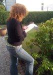Ich beim Zeichnen (c) Foto von J.Haun