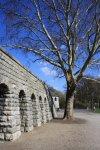 Mauer der Bastion im Schillerpark (c) Foto von Susanne Haun
