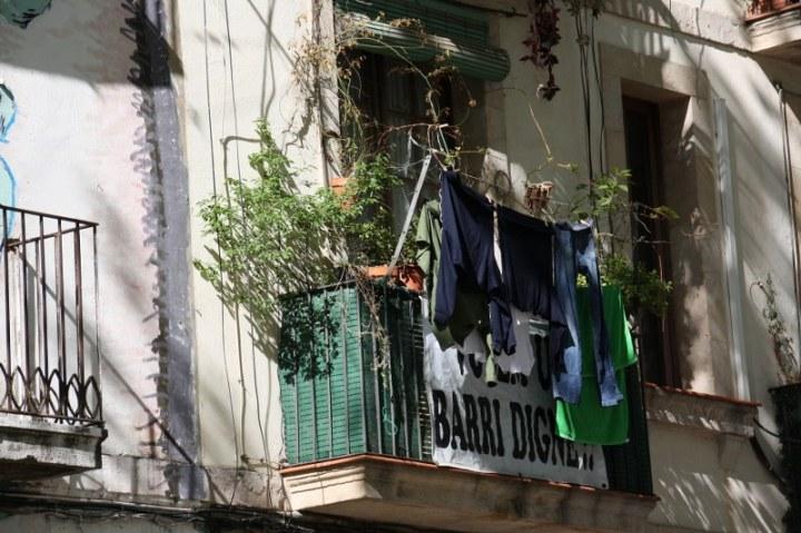 Ich mag die Balkons in Barcelonas (c) Foto von Susanne Haun