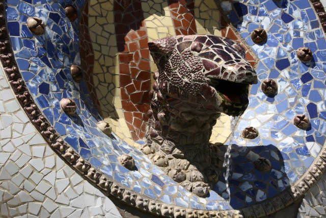 Überall gibt es bei Gaudi etwas zu schauen Foto von Susanne Haun