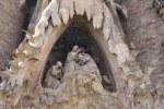 Maria Krönung - Geburtsfassade Sagrada Familia (c) Foto von Susanne Haun