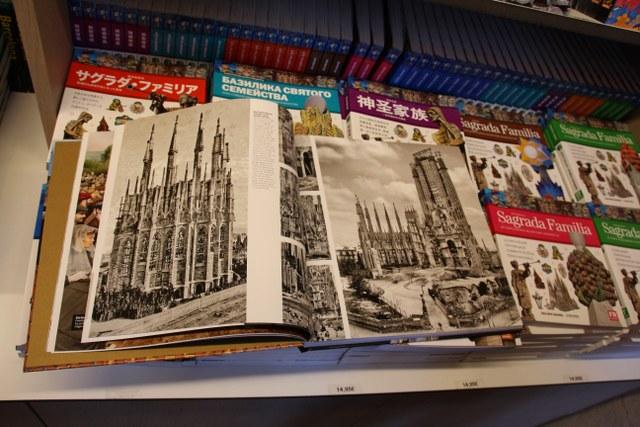 Im Andenkenladen der Sagrada (c) Foto von Susanne Haun
