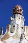 Das Dach wird von umgedrehten Kaffeetassen geschmückt (c) Foto von Susanne Haun