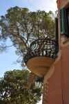 Balkon von Muster- und Wohnhaus Gaudis im Park Güell (c) Foto von M.Fanke