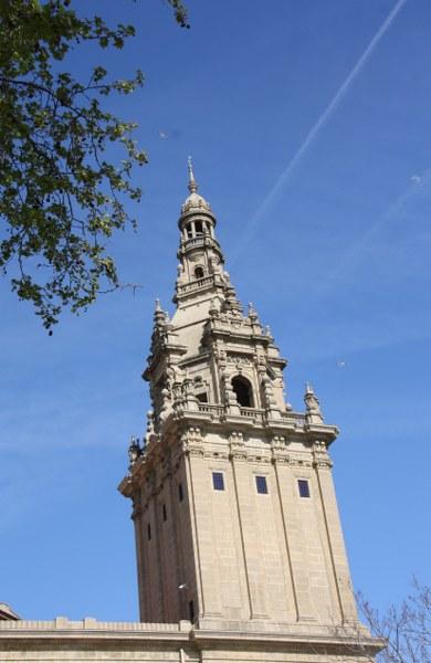 Dachlandschaft Barcelona (c) Foto von Susanne Haun.