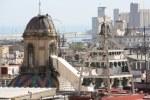 Glockenturm der Kathedrale im Gotischen Viertel Barcelona (c) Foto von Susanne Haun