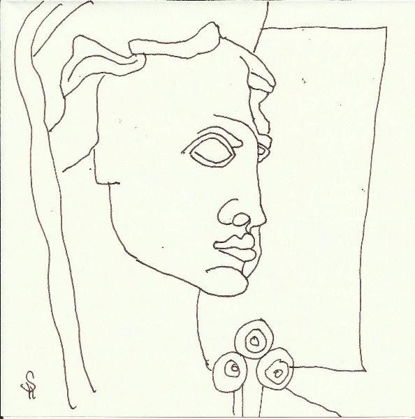 Impressionen Barcelona (c) Zeichnung von Susanne Haun