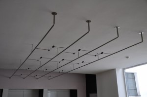 Diese Beleuchtung von der Aula wünsche ich mir für meinen Galerieraum (c) Foto von M.Fanke