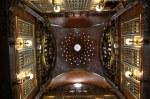 Decke des mittleren grossen Saals im Palast Güell (c) Foto von Susanne Haun