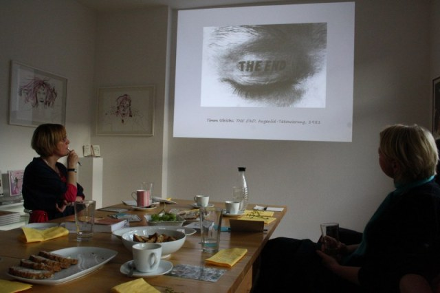 Salon zum Thema Ichfindung (c) Foto von Susanne Haun