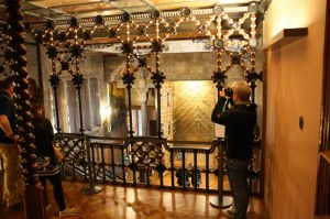 Galerie des mittleren grossen Saal im Palast Güell (c) Foto von Susanne Haun
