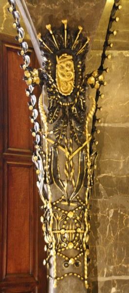 Impressionen im Palast Güell (c) Foto von Susanne Haun