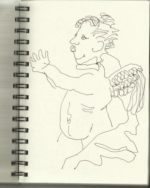 Zeughaus (c) Zeichnung von Susanne Haun