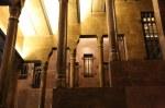 Säulenreiche Eingangstreppe des Palau Güell (c) Foto von Susanne Haun