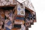 Impressionen auf dem Dach des Palau Güell (c) Foto von Susanne Haun